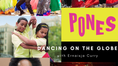 June 20, June 27, July 11: FREE Dancing on the Globe VirtualClass