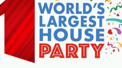 "November 30: ""World's Largest House Party"" with Ronald McDonald House"